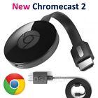 Google Chromecast 2015 Digital HD Media Streamer 2 (Latest Model) NEW