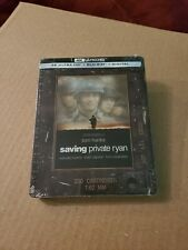 Saving Private Ryan: Steelbook Edition w/J-Card (4K Ultra HD & Blu-ray) No Code