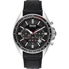 Hugo Boss Men's Classic Chronograph Stainless Steel/Black Nylon Watch 1513087