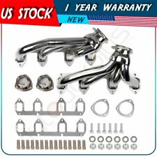 STAINLESS SHORTY HEADER EXHAUST MANIFOLD FOR 330/360/390-428 FORD BIG BLOCK FE
