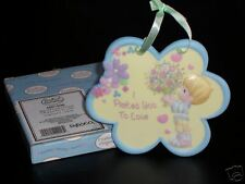 """NEW! PRECIOUS MOMENTS """"I PICKED YOU TO LOVE"""" BOY PLAQUE"""