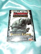 Fullmetal (Full Metal)  Alchemist TCG/CCG Starter Deck Alphonse Elric *sealed*