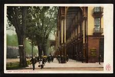 1904 street scene Grand Union Hotel Saratoga New York postcard
