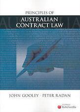 Principles of Australian Contract Law John Gooley LexisNexis