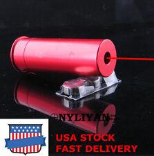 US 12GA CAL12Gauge Shot Gun boresight Red Laser Bore Sight Cartridge Boresighter