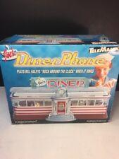 NIB Vintage Desk Top Joe's Diner Light Up Telephone by TeleMania Desktop Phone