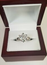 3ct Moissanite solitaire Ring
