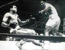 More details for smokin' joe frazier v muhammad ali signed 16x12 boxing photo proof coa champions