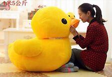 40'' Huge Giant JUMBO Plush Yellow Rubber Duck Stuffed Animal Toy Biggest 100cm