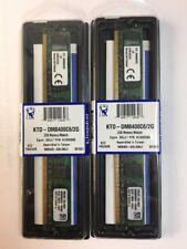 New 4GB (2x2GB) Kingston KTD-DM8400C6/2G Dell A1302686 PC2-6400 DDR2 Memory RAM