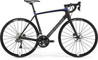 Merida Scultura Disc 7000 E bike road fitness gravel race 2019 Size M-L 54 Black
