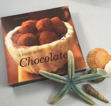40 Recipe Cards & Holder  A Passion For CHOCOLATE  Linda Collister 2003 Cookbook