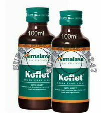 Pack Of 2 Himalaya Koflet Syrup 100ml For Dry cough with Irritation & Pain