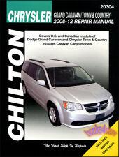 CHRYSLER TOWN & COUNTRY DODGE GRAND CARAVAN REPAIR MANUAL VAN CHILTON 2008-2012