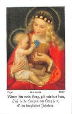 "Fleißbildchen Heiligenbild Andachtsbild Holy card ars sacra""H1996"" MESSOPFER"