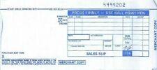 100 Long 2 Part Credit Card Manual Imprinter Sales Slip Charge Receipts Draft