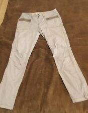 Pilcro and the Letterpress Anthropologie Tapered Leg Pants Beige No. 10 Size 4