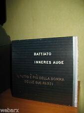 FRANCO BATTIATO INNERES AUGE CD NUOVO SIGILLATO