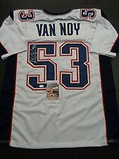 Kyle Van Noy New England Patriots Autographed Custom Style Jersey COA-JSA-*