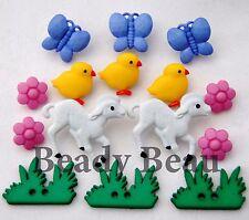 My Little Chickadee novelty Dress it up plastic craft buttons