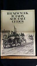 1908 - New York to Paris Auto Race Newspaper - Repro 1968  - Good Condition (US)