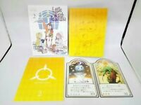 Little Witch Academia Vol.2 First Limited Edition Blu-ray Making Book Card F/S