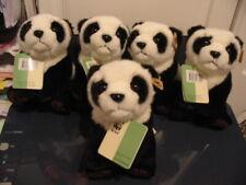 5 X WWF PANDA BUNDLE BY ANNA CLUB PLUSH BNWT