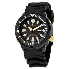 Seiko Prospex Automatic Black Dial Black Rubber Mens Sports Watch SRP641
