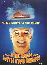 The Man With Two Brains ~ Steve Martin ~ DVD FS ~ FREE Shipping USA
