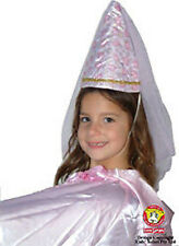 *New* Kids Safari Pink Satin Damsel Hat - 21cm tall