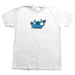 Toy Machine Skateboards OG 90's Monster SS Shirt - White - FREE SHIPPING!