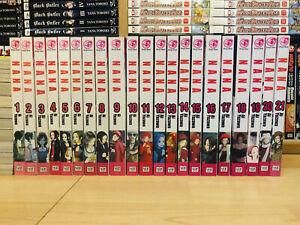 NANA 1-21 Manga Set Collection Complete Run Volumes ENGLISH RARE OOP AI YAZAWA