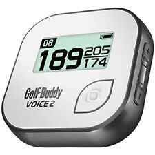 GolfBuddy voz 2 hablando GPS Telémetro Golf, Gris