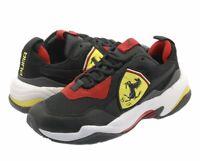 NIB Men's PUMA Size 12 Ferrari Thunder Sneakers Black 339869-01