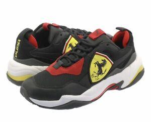 NIB Men's PUMA Size 8.5 Ferrari Thunder Sneakers Black 339869-01