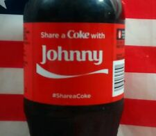 Share A Coke With Johnny Limited Edition Coca Cola Bottle 2015 USA