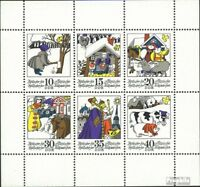 DDR 1995-2000 Kleinbogen (kompl.Ausgabe) gestempelt 1974 Wintermärchen