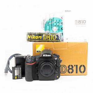 Nikon D810 DSLR Camera Body - Boxed - 56,460 Shots - VGC