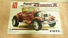VINTAGE AMT ERTL 1929 FORD MODEL A #6572 1:25 PLASTIC MODEL CAR KIT SH4C