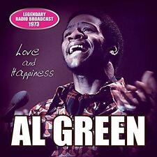 AL GREEN (VOCALS) - LOVE & HAPPINESS NEW CD