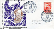 FRANCE FDC - 262a 1170 2 J.B. CARPEAUX COURBEVOIE 7/8 6 1958