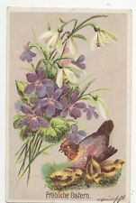 Germany Easter Embossed Collectable Greeting Postcards