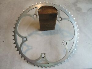 """A Good Used Campagnolo 52 Tooth, """"AS"""" Alloy Chain Ring"""