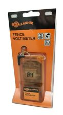 Gallagher  9 volt Battery Digital Volt Meter Orange