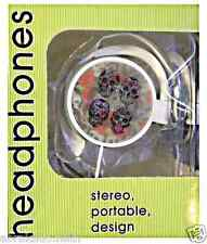 ECOUTEURS UNIVERSEL TETE DE MORT COEUR 3D STEREO CROCHET MP3 MP4 PC TELEPHONE