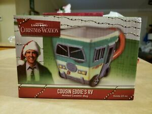 National Lampoon's Christmas Vacation Cousin Eddie's RV Molded Ceramic Mug 22oz