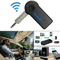 3,5mm AUX Wireless Bluetooth Audio Stereo Musik Auto Empfänger Adapter Konverter