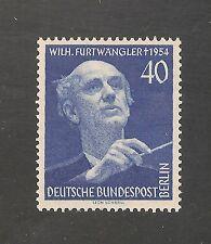 Germany Berlin #9N115 VF MNH - 1955 40pf Music Conductor Furtwangler