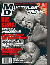 MUSCULAR DEVELOPMENT bodybuilding mag/Mike Liberatore/WWE Candice Michelle 12-08