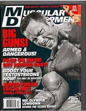 MUSCULAR DEVELOPMENT bodybuilding mag/Mike Liberatore/WWE Candice Michelle 12-08